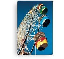 Luna Park Wheel Canvas Print
