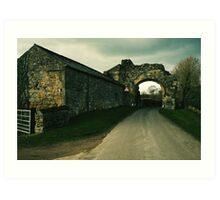 Abbey Arch Art Print
