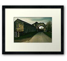 Abbey Arch Framed Print