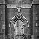 Church Door, Oatlands, Tasmania by Chris Cobern