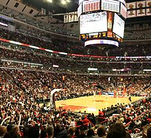 The United Center by Elaine Li