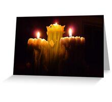 Softlight Triplet © Greeting Card