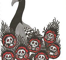 Alternative Peacock of Doom by dani-lafez