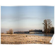 Nisqually Delta on a Winters Morning Poster