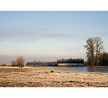 Nisqually Delta on a Winters Morning Photographic Print