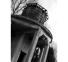 All Along the Water Tower Photographic Print