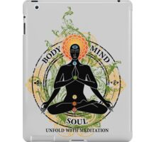 Mind Body and Soul KUNDALINI iPad Case/Skin