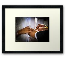img-6108__Today . . . With This Ring . . . I Thee Wed Framed Print