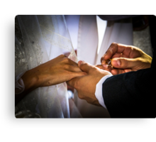 img-6108__Today . . . With This Ring . . . I Thee Wed Canvas Print