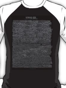 Paint on Through.. T-Shirt