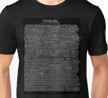 Paint on Through.. Unisex T-Shirt