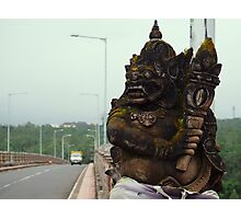 Bridge in Bali Photographic Print