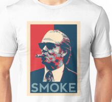 Smoke - Nicholson with cigar obama style poster graphic Unisex T-Shirt