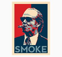 Smoke - Nicholson with cigar obama style poster graphic T-Shirt