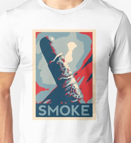 Smoke - cigar obama style poster graphic Unisex T-Shirt