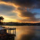 the sun's final kiss goodbye by Joel Wigley