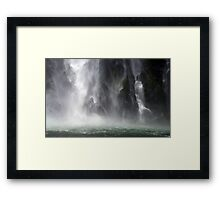 In the Hall of the Mountain King- The Veil Framed Print