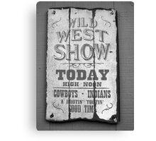 Show Time! Canvas Print