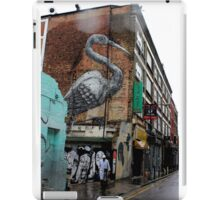 Roa - Crane (Urban Wildlife) iPad Case/Skin
