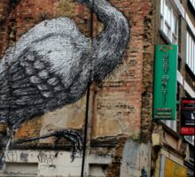 Roa - Crane (Urban Wildlife) Sticker