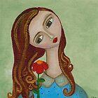 Flower Girl by AzulValentina