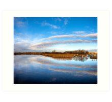 Around The Bend - Galway River Corrib Art Print