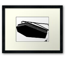 6 Feet Above Framed Print