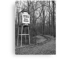 Tower & Tracks Canvas Print