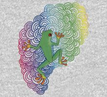 Rainbow Frog Kids Clothes