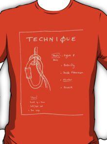 Emergency Belay Knot (dark) T-Shirt