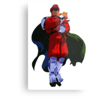 The only Final Boss - M Bison Metal Print