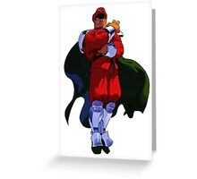 The only Final Boss - M Bison Greeting Card