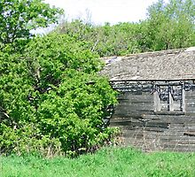 Old Abandoned Barn Falling to Ruin by rhamm