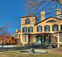 1800's Upstate New York Home Architecture - Exterior by Cathryn  Lahm