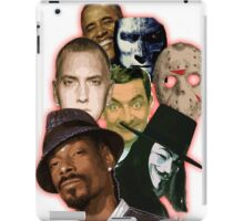 famous funny/hiphop/obama/horror iPad Case/Skin