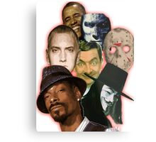 famous funny/hiphop/obama/horror Metal Print