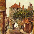 Westgate, Southampton, Hampshire, England 19th century by Dennis Melling