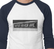 161st Street - River Ave Men's Baseball ¾ T-Shirt