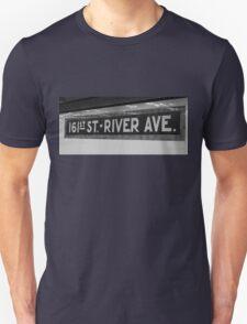 161st Street - River Ave Unisex T-Shirt