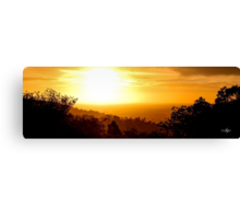 Dandalup Sunset Canvas Print