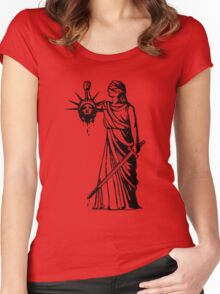 Got Liberty? Women's Fitted Scoop T-Shirt