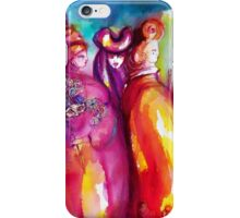 THE THIRD MASK / Venetian Carnival Masquerade iPhone Case/Skin