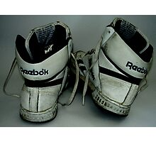 Reebok Sneakers Photographic Print