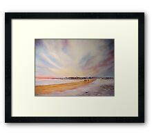 Winter on St Andrews - Scotland Framed Print