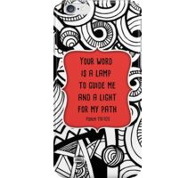 Your Word is a Lamp  iPhone Case/Skin