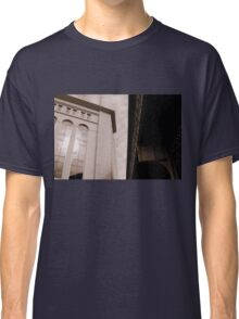 Yankee Stadium & Subway Tracks Classic T-Shirt