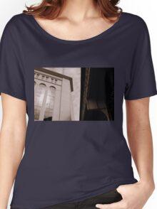 Yankee Stadium & Subway Tracks Women's Relaxed Fit T-Shirt