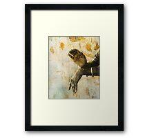 Sacred Mudra Framed Print