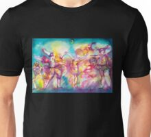 MASQUERADE PARTY,Mardi Gras Masks,Dance,Music Unisex T-Shirt