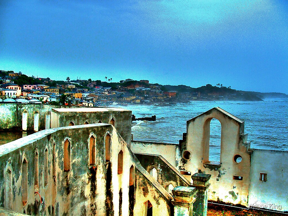 In the Castle Looking Out, Cape Coast of Ghana by Wayne King